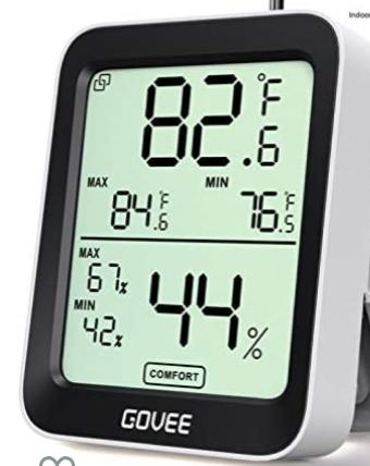 Bluetooth Govee thermometer